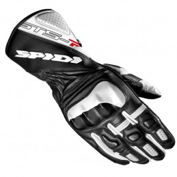 Kožené rukavice STS R2 SPIDI bielo/čierne