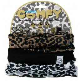 Šatka Oxford Comfy Leopard...