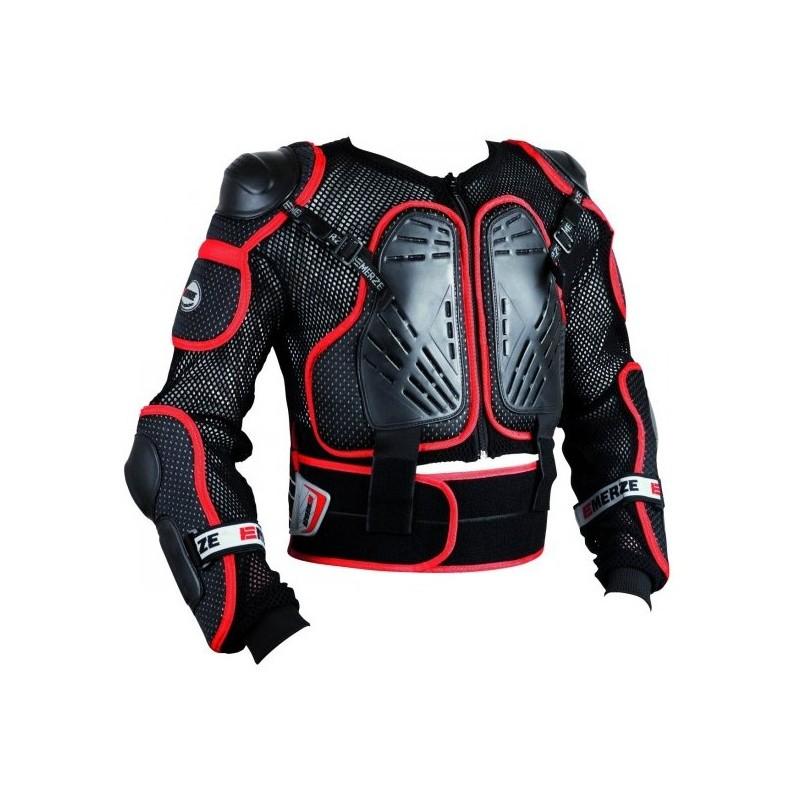 Chránič tela EMERZE EM3 čierny/červený