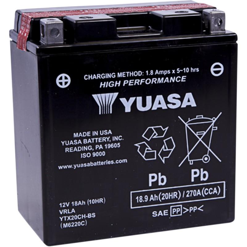 Batéria YUASA YTX20CH-S (CP)
