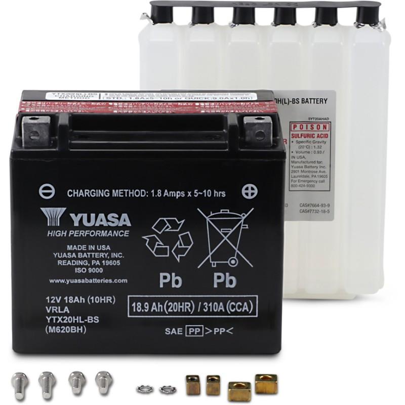 Batéria YUASA YTX20HL-BS(CP)