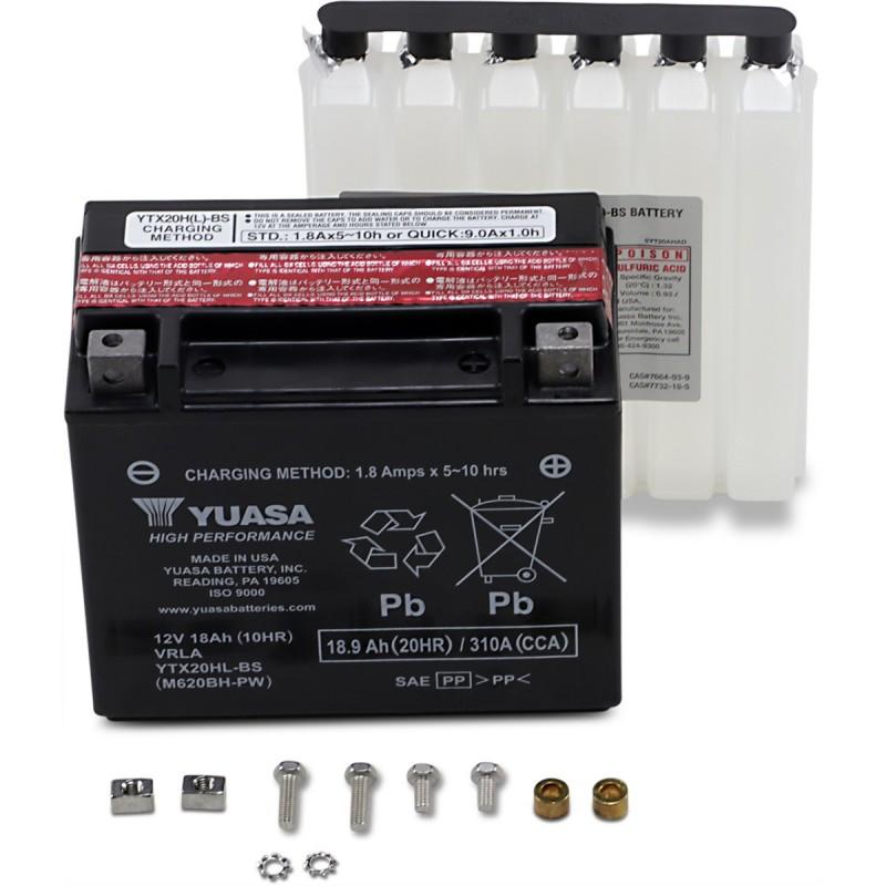 Batéria YUASA YTX20HL-BS-PW(CP)