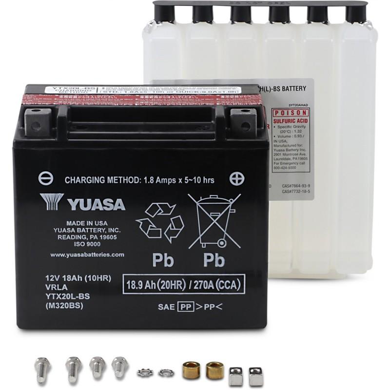 Batéria YUASA YTX20L-BS(CP)