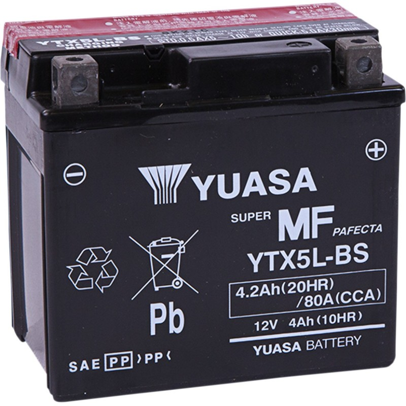 Batéria YUASA YTX5L-BS(CP)