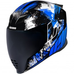 Prilba na moto ICON Airflite Stim blue