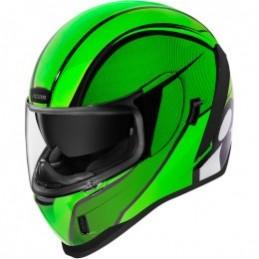 Prilba na moto ICON Airfrom Conflux green