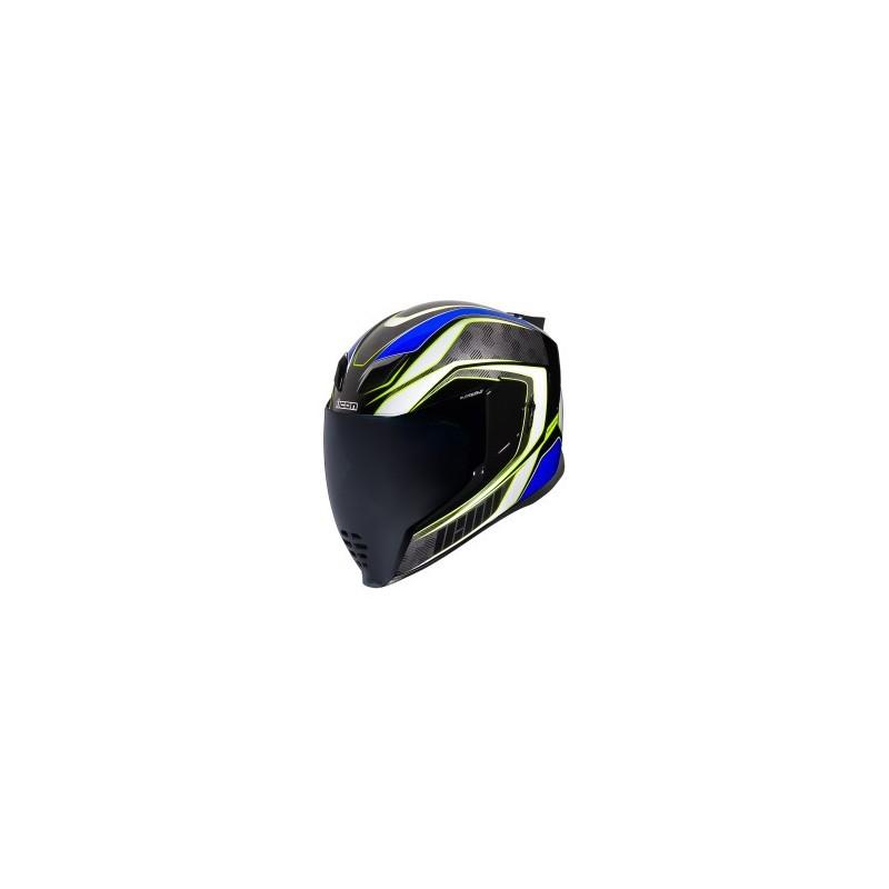 Prilba na moto ICON Airflite Raceflite blue