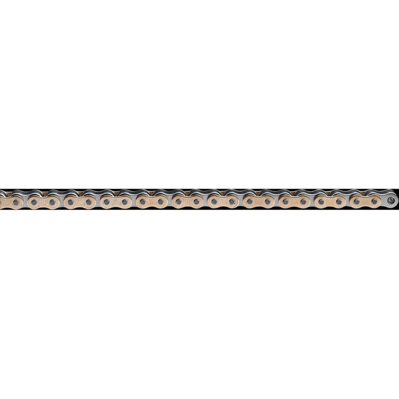 Reťaz EK 428SHDR120GXG zlatá/prírodná