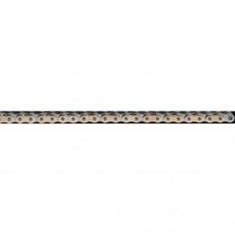 Reťaz EK 428SHDR126GXG zlatá/prírodná
