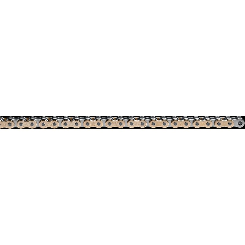 Reťaz EK 428SHDR138GXG zlatá/prírodná