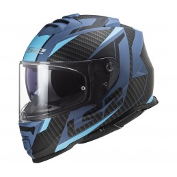 Prilba na moto LS2 FF800 Storm Racer matt blue