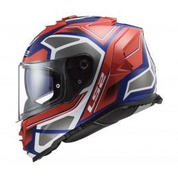 Prilba na moto LS2 FF800 Storm Faster red blue