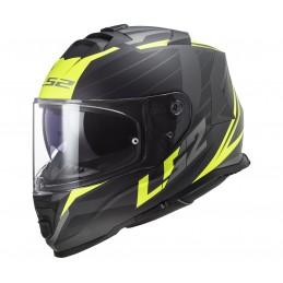 Prilba na motocykel LS2 FF800 Storm Nerve matt black h-v yellow