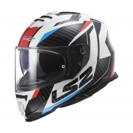 Prilba na motocykel LS2 FF800 Storm Racer red blue
