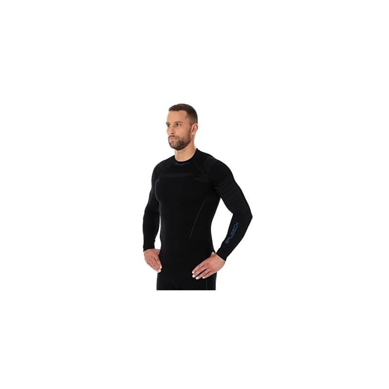 Termo tričko BRUBECK LS13040 black