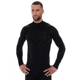 Termo tričko Brubeck Cooler LS11800 black