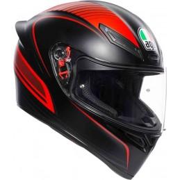 AGV K-1 Warmup Helmet Black-red