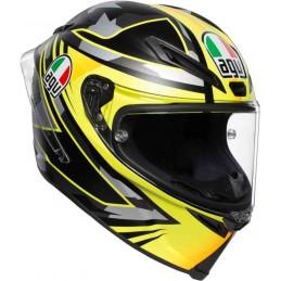 AGV Corsa R MIR Winter Test 2018 Helmet Black-yellow
