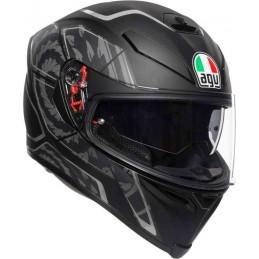AGV K-5 S Tornado Helmet Čierno-strieborná
