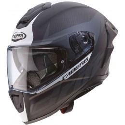 Prilba na moto CABERG Drift Evo Carbon Pro black matt white