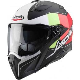 Prilba na moto CABERG Jackal Imola black-white-red