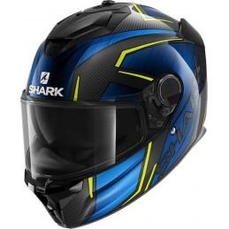 Integrálna prilba Shark Spartan GT Carbon Kromium black/blue