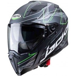 Caberg Jackal Techno Helmet Black-green