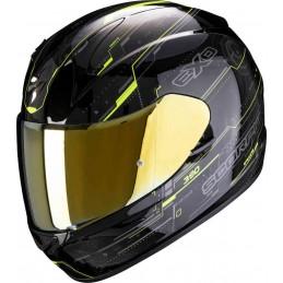 Scorpion Exo 390 Beat Helmet Black-yellow