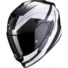 Prilba SCORPION EXO 1400 Carbon Air Legione white black