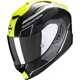 Scorpion EXO 1400 Carbon Air Beaux Helmet Čierna-biela-žltá