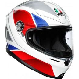 AGV K-6 Hyphen Helmet Bielo-červená-modrá