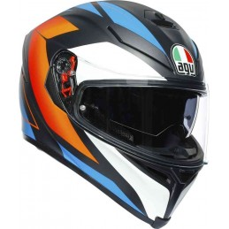 AGV K-5 S Core Helmet Čierna matná oranžová