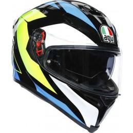 AGV K-5 S Core Helmet Black-yellow