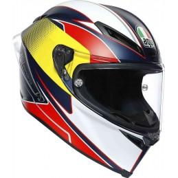 AGV Corsa R Supersport Helmet Modro-červeno-bielo