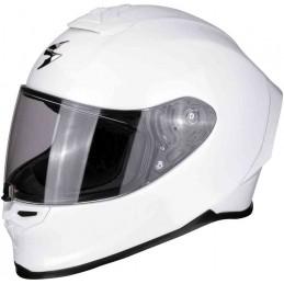 Scorpion EXO R1 Air Solid Helmet Biely