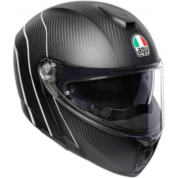 Prilba na motocykel AGV Sportmodular PLK Refractive Carbon Helmet