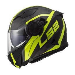 Prilba na motocykel LS2 FF313 Vortex Frame Carbon HI VIS Yellow