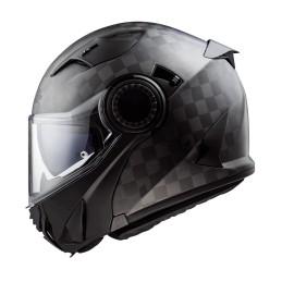 Prilba na motocykel LS2 FF313 Vortex Solid Carbon