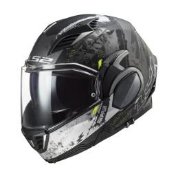 Prilba na motocykel LS2 FF900 Valiant II Gripper matt titanum