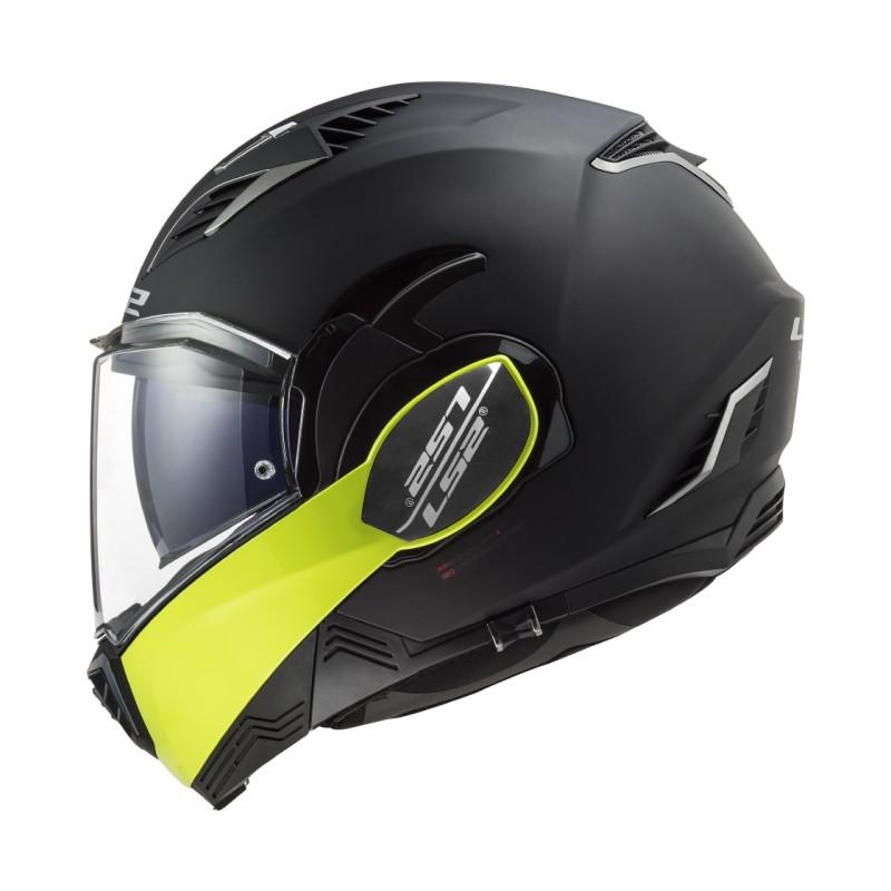 Prilba na motocykel LS2 FF900 Valiant II Hammer matt black yellow