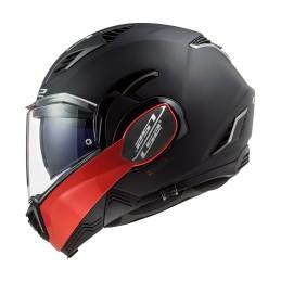 Prilba na motocykel LS2 FF900 Valiant II Hammer matt black red