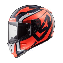Prilba na motocykel LS2 FF323 Arrow C EVO Sting blue fluo orange
