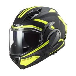 Prilba na motocykel LS2 FF900 Valiant II Revo matt black yellow