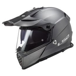 Prilba na motocykel LS2 MX436 Pioneer EVO matt titanium