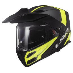 Prilba na motocykel LS2 FF324 Metro EVO Rapid matt black yellow