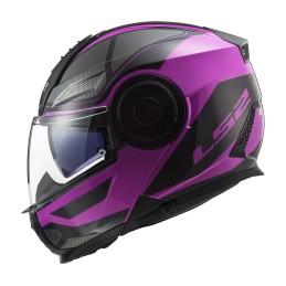 Prilba na motocykel LS2 FF902 Scope Axis black pink