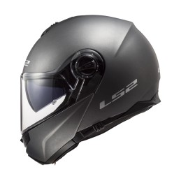 Prilba na motocykel LS2 FF325 Strobe Solid matt black
