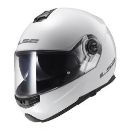 Prilba na moto LS2 FF325 Strobe Solid white