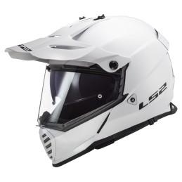 Prilba na motocykel LS2 MX436 Pioneer EVO Solid white
