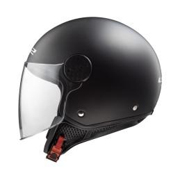 Prilba na motocykel LS2 OF558 SPHERE Solid matt black